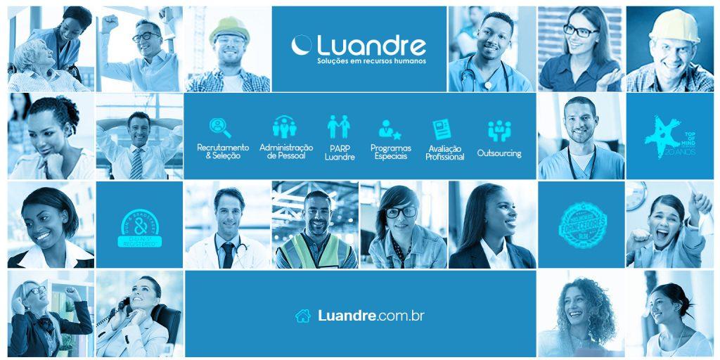 Luandre, empresa de RH, seleciona profissionais para vagas abertas