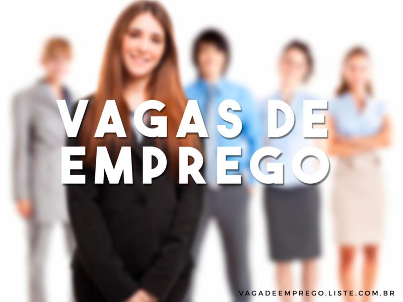 33 oportunidades de emprego para Presidente Prudente e Região
