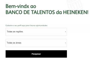 Como cadastrar o currículo para vagas abertas na Heineken