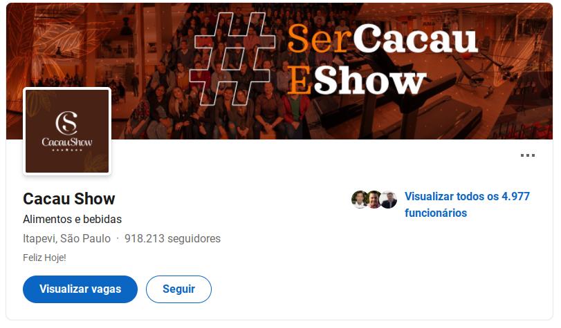 Saiba como cadastrar currículo para vagas abertas - Cacau Show