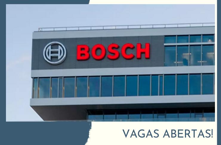 Vagas de emprego na Bosch - Candidate-se