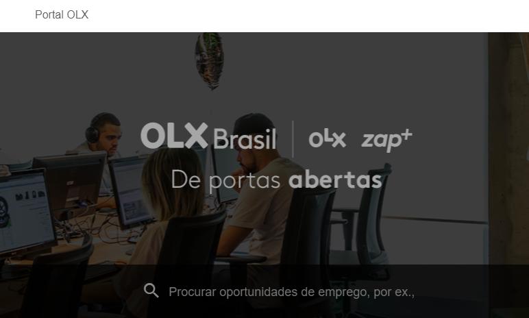 Como cadastrar currículo para vagas abertas - Estágio OLX