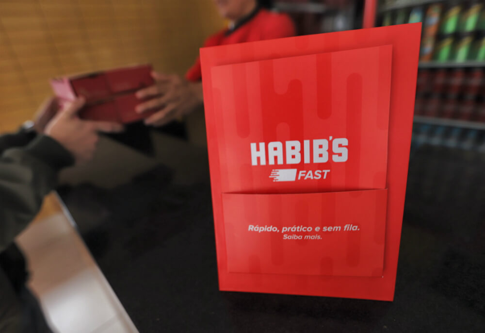Habib's abre vagas de emprego por todo o Brasil