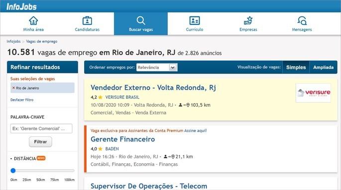 Dicas e melhores sites para procurar emprego online
