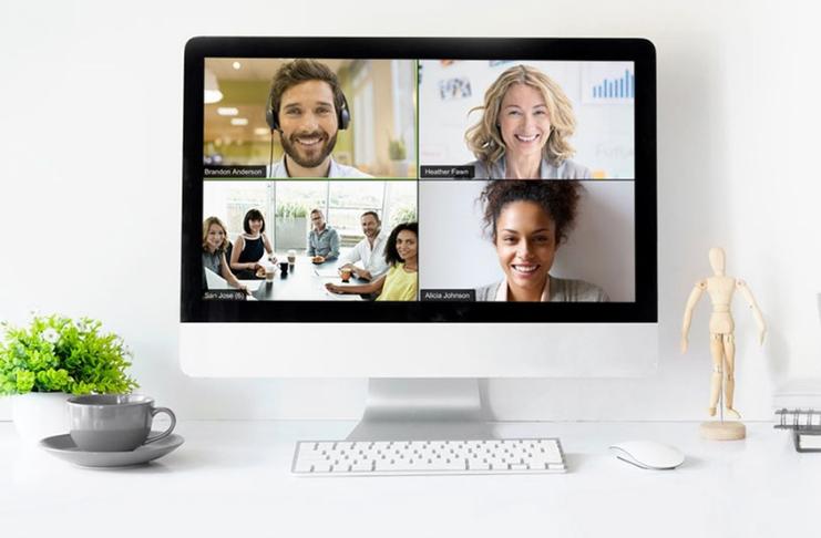 Otimize suas comunicações remotas usando o zoom