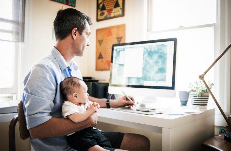 Crie um espaço de trabalho funcional em casa
