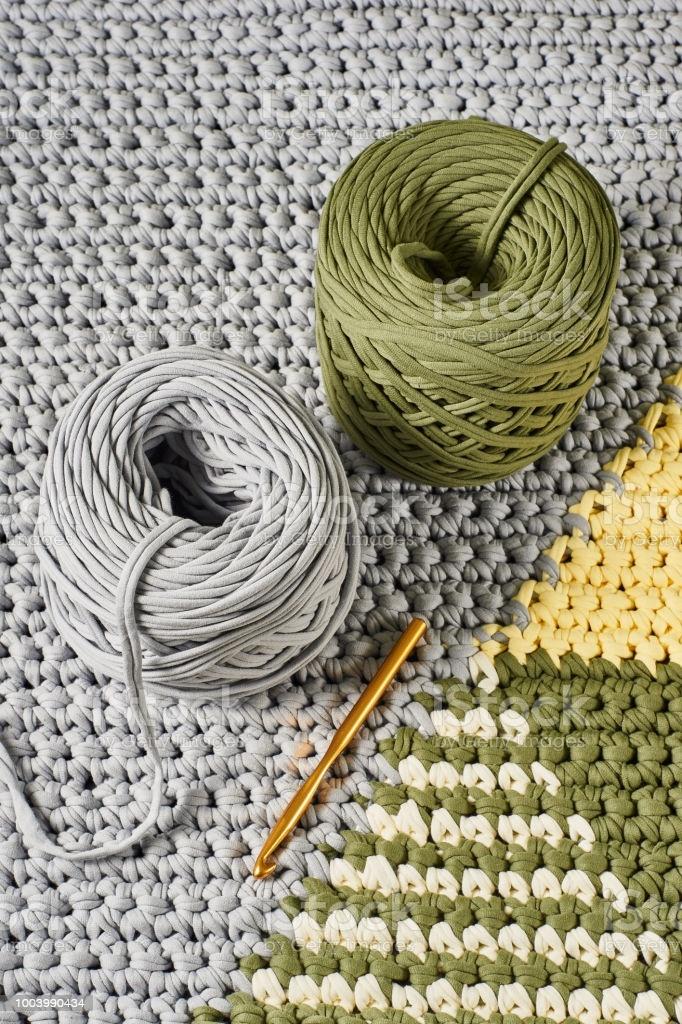 10 ideias do que fazer com fio de malha em crochê