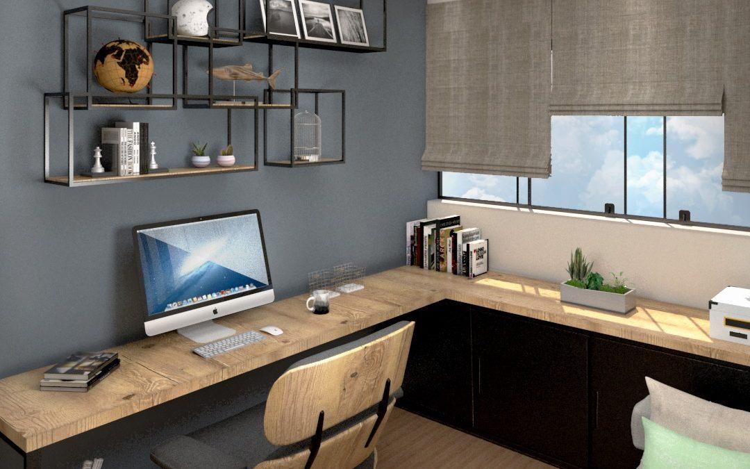 5 ideias incríveis para decorar seu escritório em casa