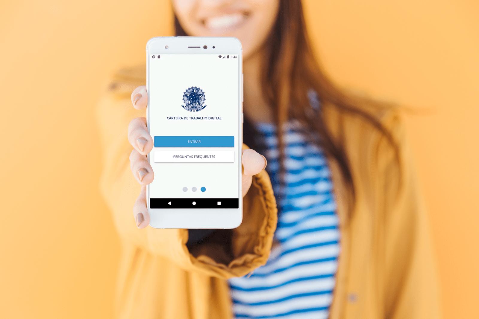 Aprenda como fazer carteira de trabalho digital